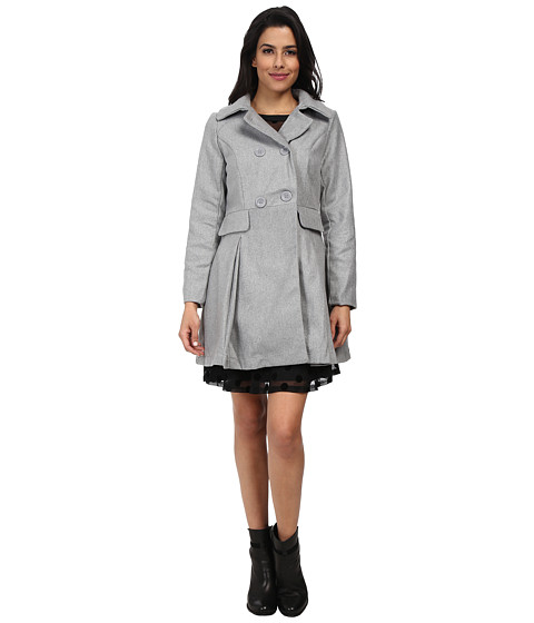 Imbracaminte Femei Brigitte Bailey Double Breasted Jacket with Flap Pockets Grey
