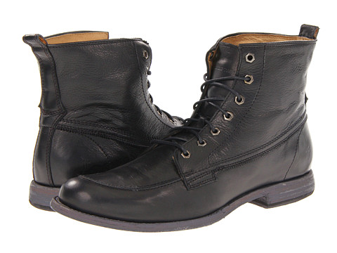 Incaltaminte Barbati Frye Phillip Work Boot Black Soft Vintage Leather