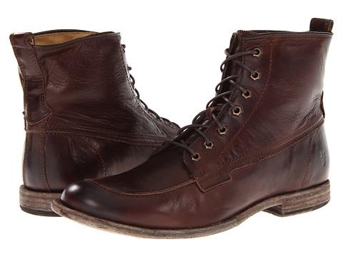 Incaltaminte Barbati Frye Phillip Work Boot Dark Brown Soft Vintage Leather