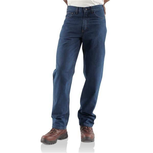 Imbracaminte Barbati Carhartt FR Flame-Resistant Jeans - Relaxed Fit Straight Leg DENIM (01)
