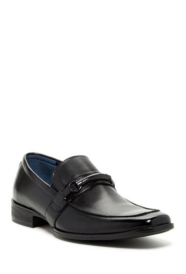 Incaltaminte Barbati Steve Madden Shermen Loafer BLACK LEAT