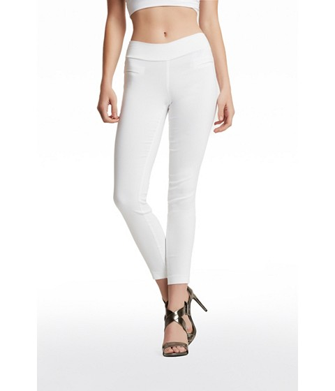 Imbracaminte Femei GUESS Beatrix Pull-On Skinny Pants true white