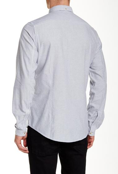 Imbracaminte Barbati Ben Sherman Soho Long Sleeve Slim Fit Shirt B51B51NVYB