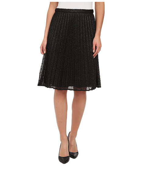Imbracaminte Femei Calvin Klein Metallic Lace Skirt BlackGold