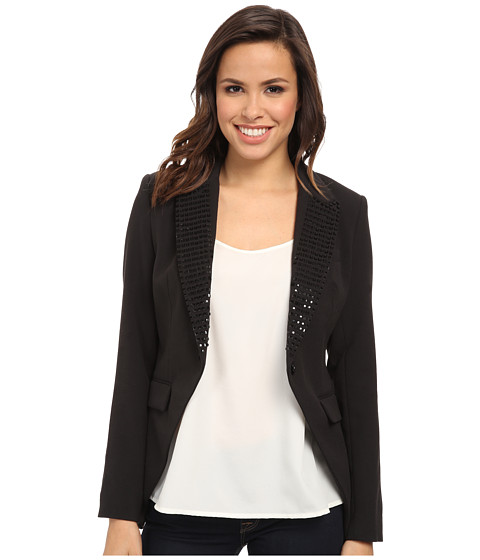Imbracaminte Femei Michael Kors Studded Tux Blazer Black