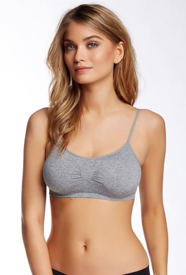 Imbracaminte Femei Free Press Seamless Day Bra Grey Heather