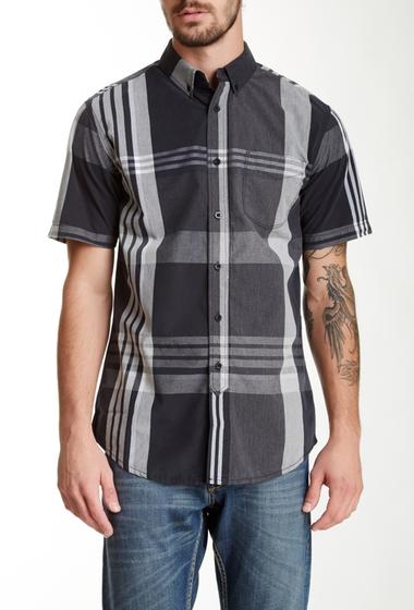 Imbracaminte Barbati Indigo Star Tundra Short Sleeve Plaid Shirt Black