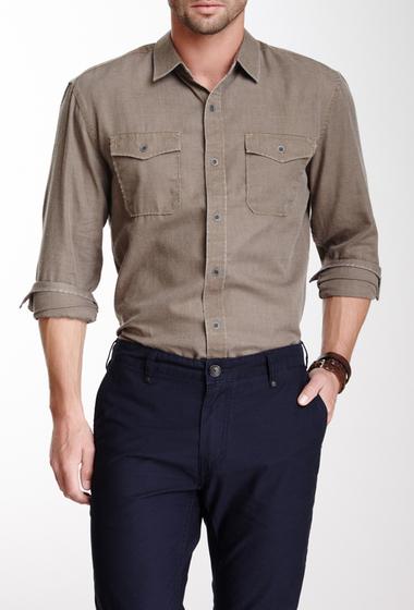 Imbracaminte Barbati Indigo Star Chambray Woven Shirt Military Olive