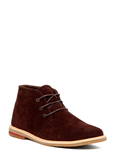 Incaltaminte Barbati Giraldi Danny Perforated Chukka Boot BROWN