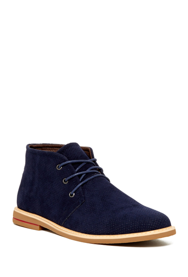 Incaltaminte Barbati Giraldi Danny Perforated Chukka Boot NAVY