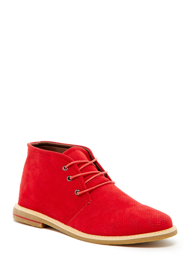 Incaltaminte Barbati Giraldi Danny Perforated Chukka Boot Red