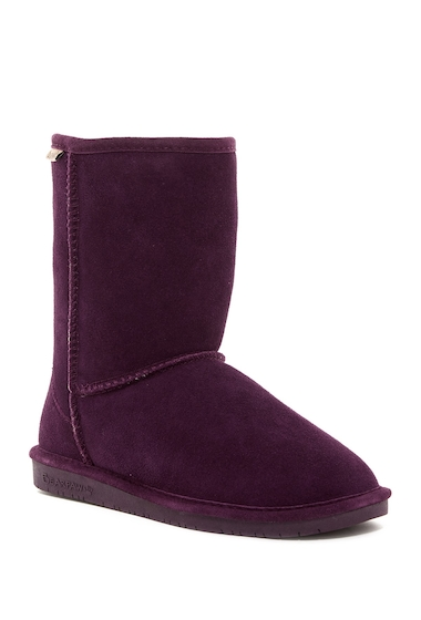 Incaltaminte Femei Bearpaw Emma Genuine Sheepskin Lined Short Boot PLUM