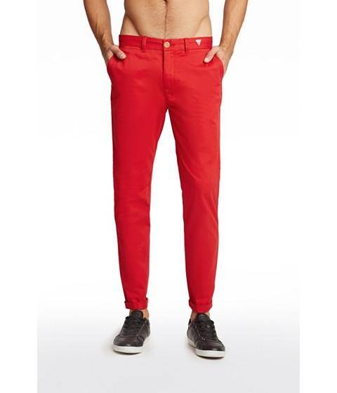Imbracaminte Barbati GUESS Mayr Pants red hot