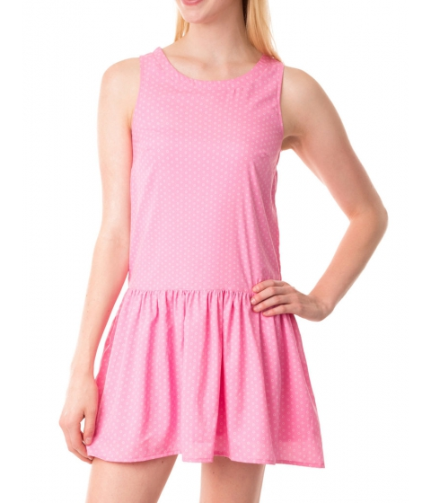 Imbracaminte Femei US Polo Assn Drop Circle Dot Tank Dress PINK ZINC