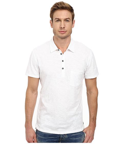 Imbracaminte Barbati 7 For All Mankind Raw Placket Polo White