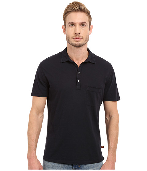 Imbracaminte Barbati 7 For All Mankind Raw Placket Polo Midnight Navy