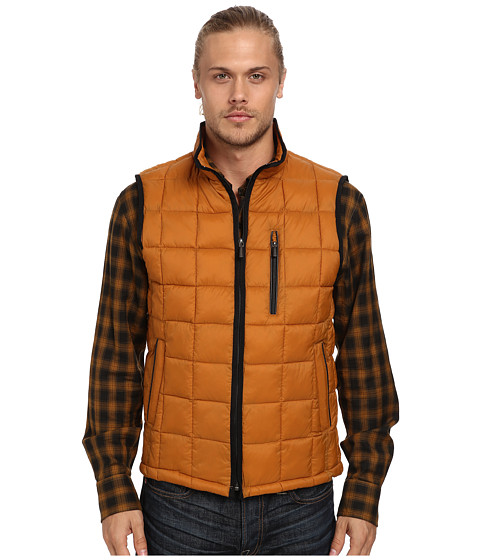 Imbracaminte Barbati Rain Forest Quilted Vest w ThermoLuxe Insulation Curry