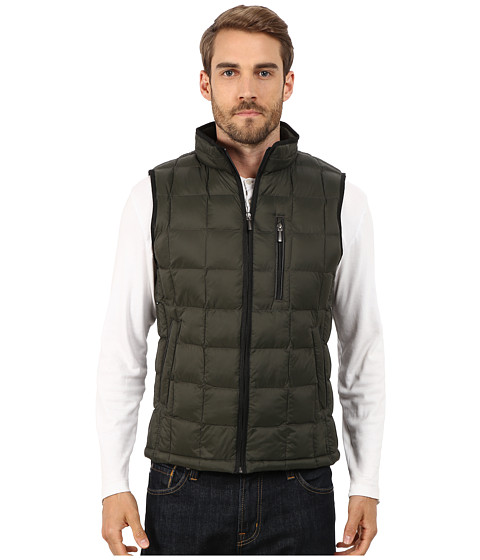 Imbracaminte Barbati Rain Forest Quilted Vest w ThermoLuxe Insulation Kale