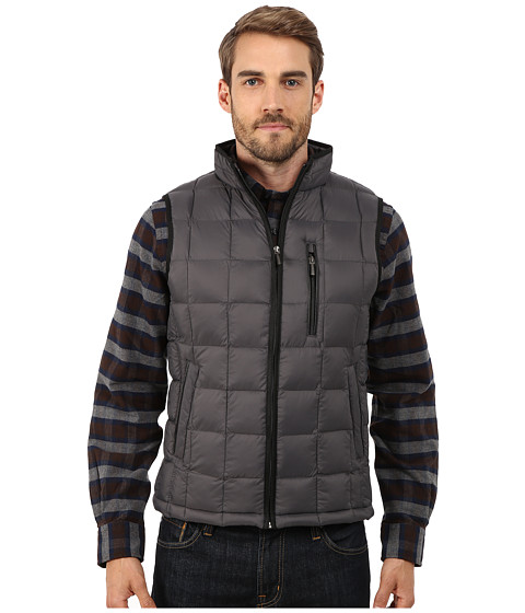 Imbracaminte Barbati Rain Forest Quilted Vest w ThermoLuxe Insulation Graphite