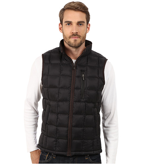 Imbracaminte Barbati Rain Forest Quilted Vest w ThermoLuxe Insulation Black 1