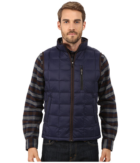 Imbracaminte Barbati Rain Forest Quilted Vest w ThermoLuxe Insulation Ink 1