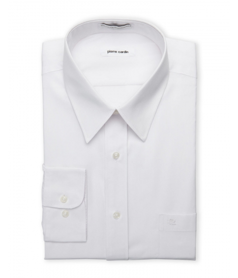 Imbracaminte Barbati Pierre Cardin White Regular Fit Open Pocket Dress Shirt White