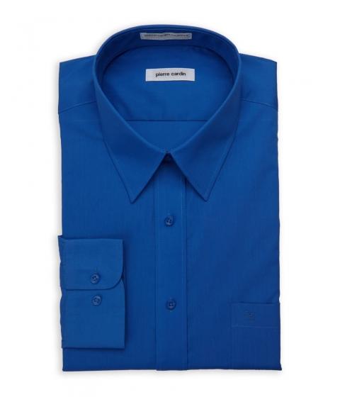 Imbracaminte Barbati Pierre Cardin Cobalt Blue Regular Fit Open Pocket Dress Shirt Cobalt Blue