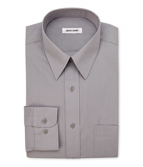 Imbracaminte Barbati Pierre Cardin Pewter Dress Shirt Pewter