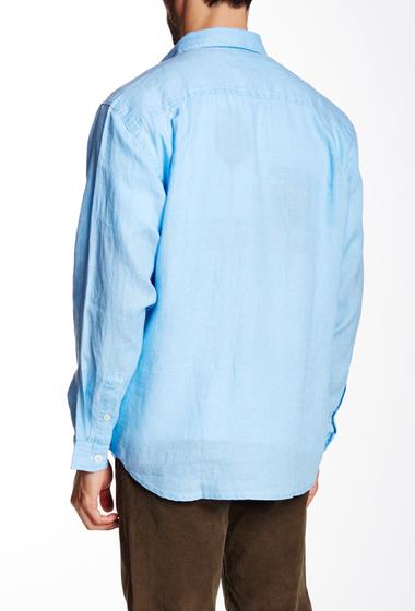 Imbracaminte Barbati Tommy Bahama Sea Glass Breezer Linen Regular Fit Sport Shirt BLUE YONDE