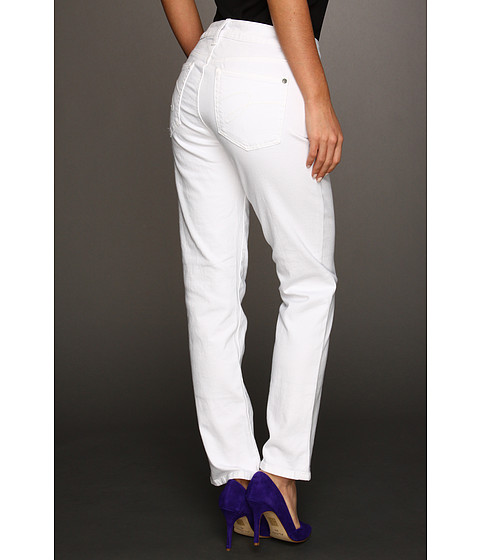 Imbracaminte Femei Miraclebody Jeans Sandra D Ankle Jean White