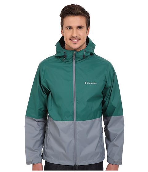 Imbracaminte Barbati Columbia Roan Mountaintrade Jacket Pine GreenGrey AshDark Turquoise