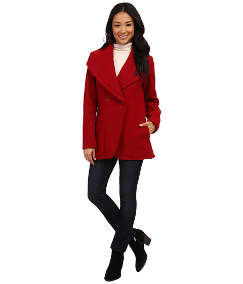 Imbracaminte Femei Pendleton Boiled Wool Coat Red Rock 2
