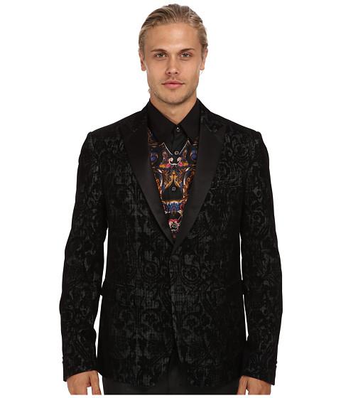 Imbracaminte Barbati Just Cavalli Patterned Blazer Black