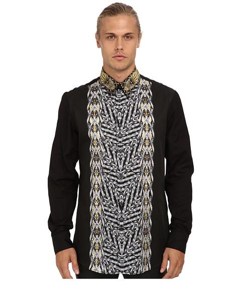 Imbracaminte Barbati Just Cavalli Gipsy Duel Print Regular Fit Shirt Black
