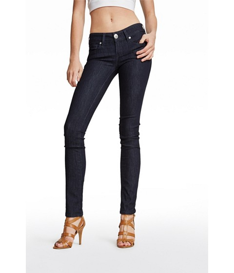 Imbracaminte Femei GUESS Sarah Skinny Jeans in Rinse Wash rinse