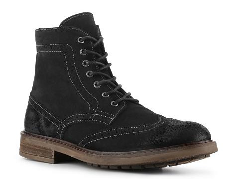 Incaltaminte Barbati Rogue William Wingtip Boot Black