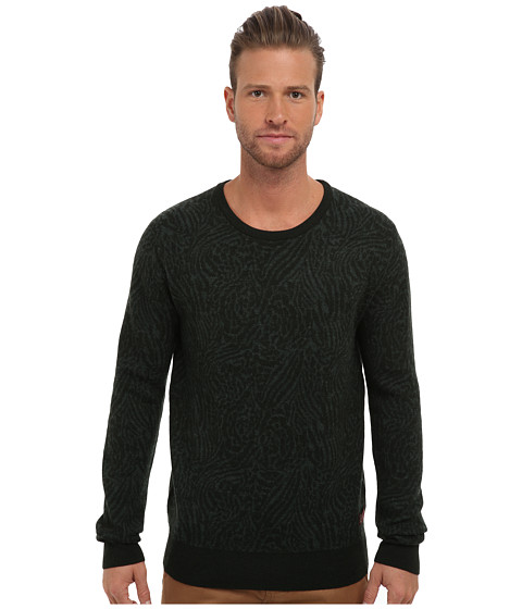 Imbracaminte Barbati Scotch Soda Knitted Crew Neck Sweater Green