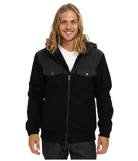 Imbracaminte Barbati RVCA Atom Jacket Black