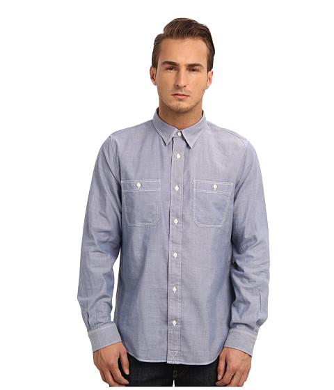 Imbracaminte Barbati Jack Spade Cormac Chambray Work Shirt Blue