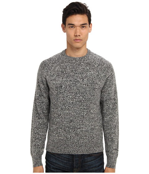 Imbracaminte Barbati Jack Spade Olson Marled Crewneck Sweater Black