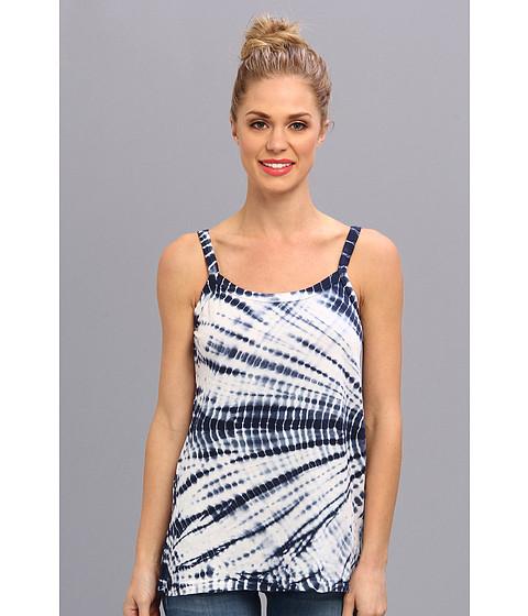 Imbracaminte Femei Allen Allen Tie Dye Tank Lapis
