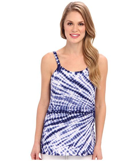 Imbracaminte Femei Allen Allen Tie Dye Tank New Blue