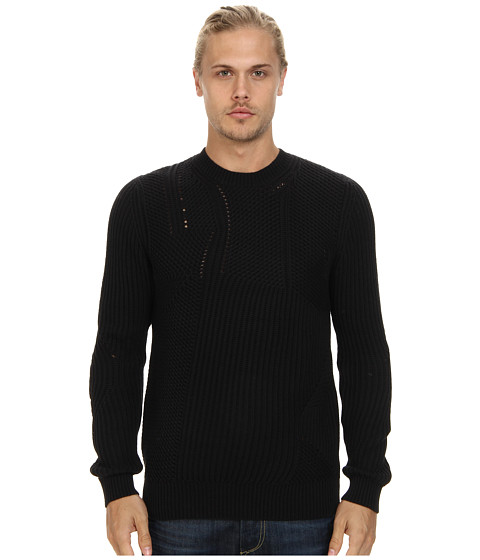 Imbracaminte Barbati French Connection Transfer Rib Top Black