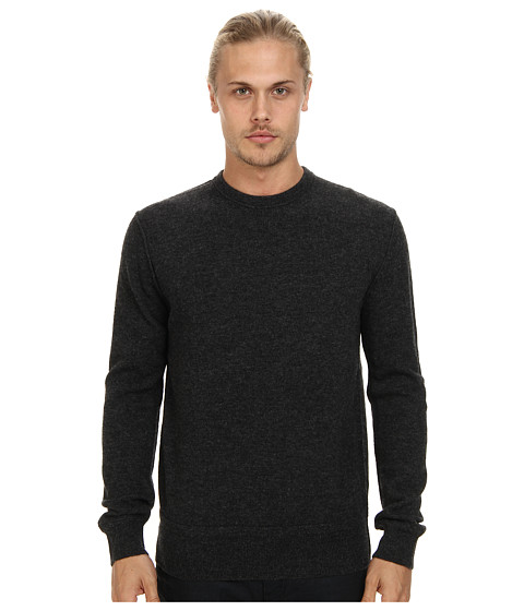 Imbracaminte Barbati French Connection Shepard Lambswool Top Charcoal Mel