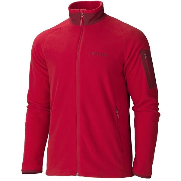 Imbracaminte Barbati Marmot Reactor Jacket - Polartec Fleece TEAM RED (05)
