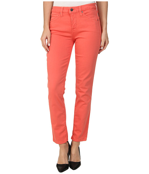 Imbracaminte Femei Miraclebody Jeans Sandra D Skinny Ankle in Coral Coral