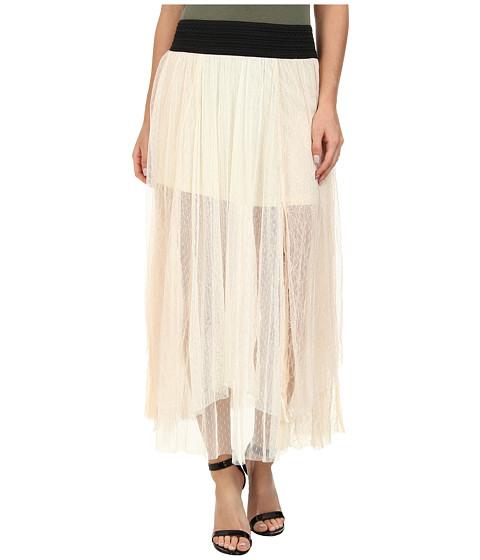 Imbracaminte Femei Free People Dotted Mesh Sugar Plum Tutu Skirt Ivory