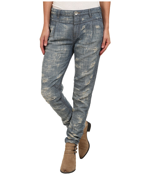 Imbracaminte Femei Free People Destroyed Denim Indigo
