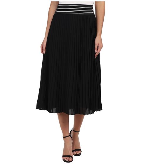 Imbracaminte Femei Sam Edelman Chiffon Pleated Skirt w Cutout Black