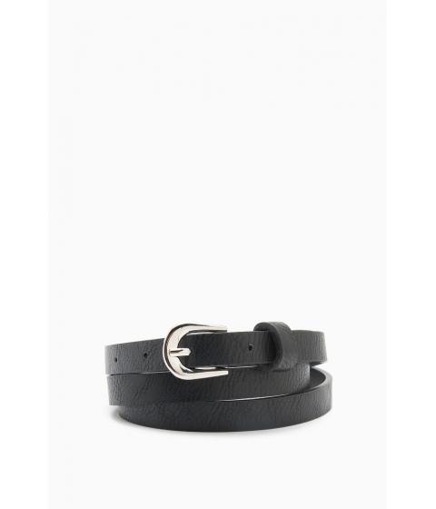 Accesorii Femei CheapChic Basic Buckle Skinny Belt Black